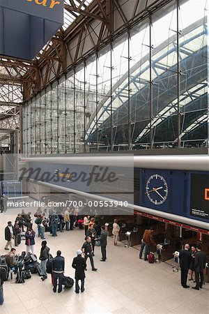 Waterloo Station, London, England    Stock Photo - Premium Rights-Managed, Artist: Peter Christopher, Code: 700-00553940