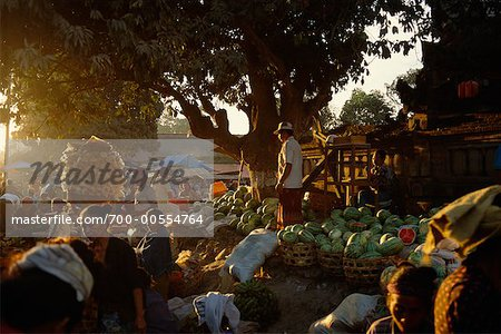 People at Market, Bali, Indonesia Stock Photo - Rights-Managed, Image code: 700-00554764