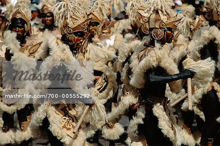 Dancers in Street Festival, Iloilo, Philippines Stock Photo - Rights-Managed, Image code: 700-00555292