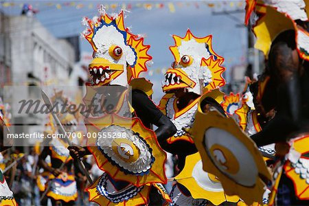 Dancers in Street Festival, Iloilo, Philippines Stock Photo - Rights-Managed, Image code: 700-00555298