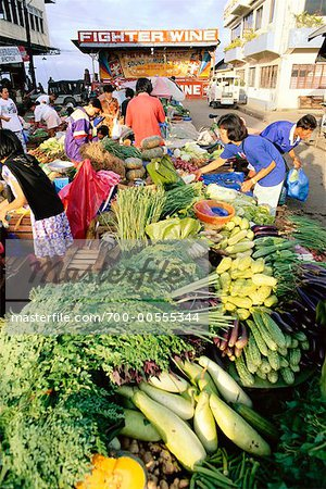People at Market, Iligan City, Mindanao, Philippines