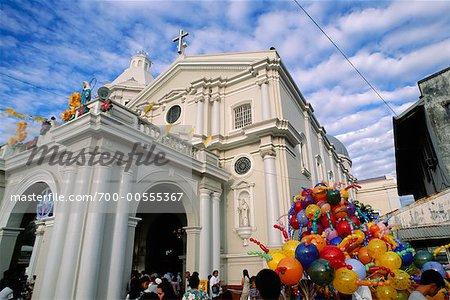 Church and Street Festival, San Fernando, Pampanga, Philippines Stock Photo - Rights-Managed, Image code: 700-00555367