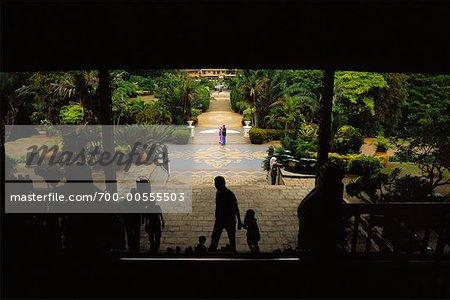 People in Garden, Malacca, Malaysia