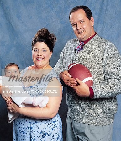 Family Portrait Stock Photo - Rights-Managed, Image code: 700-00593172
