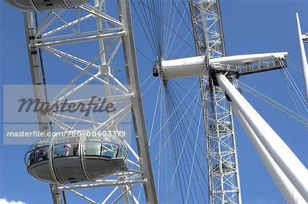 Close Up of Millenium Wheel, London, England Stock Photo - Rights-Managed, Image code: 700-00603379