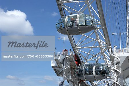 Close Up of Millenium Wheel, London, England Stock Photo - Rights-Managed, Image code: 700-00603380