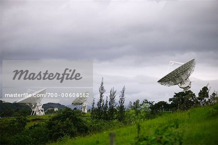 Satellite Dishes, Rio de Janeiro, Brazil