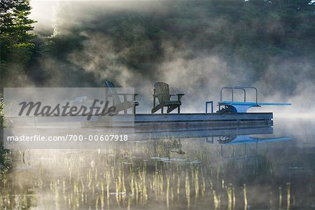 Tamarack Lake at Dawn, Haliburton County, Ontario, Canada