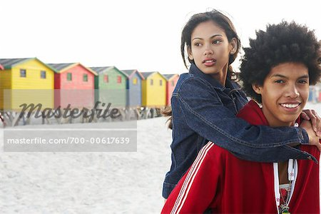 Couple at the Beach Stock Photo - Rights-Managed, Image code: 700-00617639