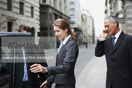 Business People on the Street, London, England Stock Photo - Rights-Managed, Image code: 700-00681235