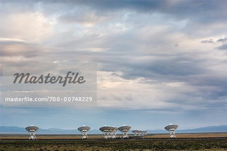 VLA Radio Telescopes, Socorro, New Mexico, USA
