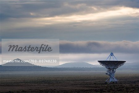 Radio Telescopes at the Very Large Array, Socorro, New Mexico, USA Stock Photo - Rights-Managed, Image code: 700-00748230