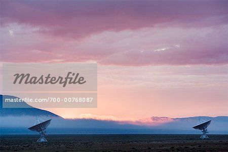 Radar Telescopes, Very Large Array, Socorra, New Mexico, USA Stock Photo - Rights-Managed, Image code: 700-00768087