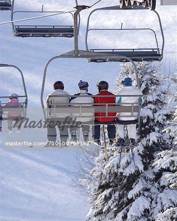 Ski Lift, Haliburton, Ontario, Canada