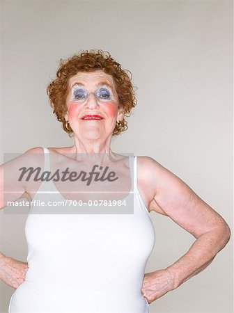 Portrait of Woman in Tank Top Stock Photo - Rights-Managed, Image code: 700-00781984
