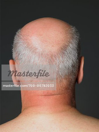 Back of Man's Head Stock Photo - Rights-Managed, Image code: 700-00782033
