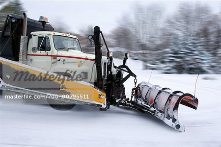 Snow Plow Stock Photo - Rights-Managed, Image code: 700-00795511