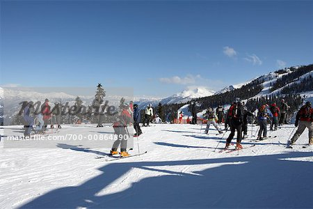 Skiers Stock Photo - Rights-Managed, Image code: 700-00864890