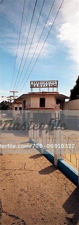 Gas Station, Santiago, Cuba Stock Photo - Rights-Managed, Image code: 700-00910322