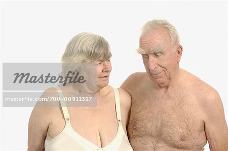 Portrait of Senior Couple Stock Photo - Rights-Managed, Image code: 700-00911397