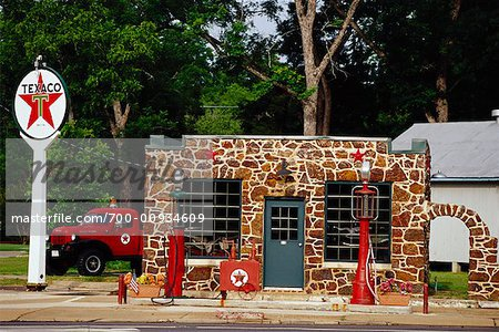 Gas Station Stock Photo - Rights-Managed, Image code: 700-00934609