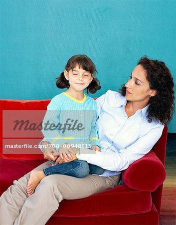 Mother and Daughter Stock Photo - Rights-Managed, Image code: 700-00948813