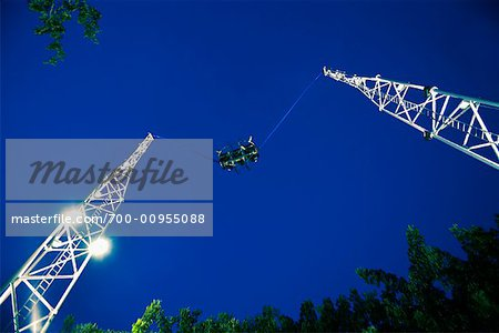 Bungy Jumping, Clarke Quay, Singapore
