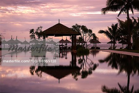 Pool, Voile d'Or Hotel, Mauritius Stock Photo - Rights-Managed, Image code: 700-00955110