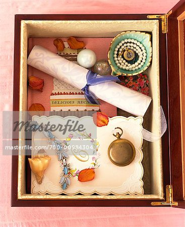 Memory Box Stock Photo - Rights-Managed, Image code: 700-00984304