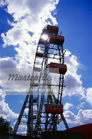 Ferris Wheel, Prater, Vienna, Austria Stock Photo - Rights-Managed, Image code: 700-01030333