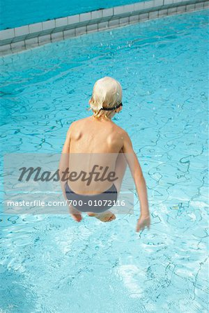 Boy in Swimming Pool Stock Photo - Rights-Managed, Image code: 700-01072116