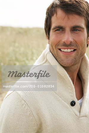 Portrait of Man Outdoors Stock Photo - Rights-Managed, Image code: 700-01082834