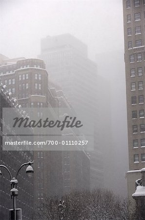 Snow Storm in New York City, New York, USA Stock Photo - Rights-Managed, Image code: 700-01110257