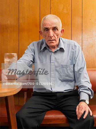 Man Drinking Beer Stock Photo - Rights-Managed, Image code: 700-01120590