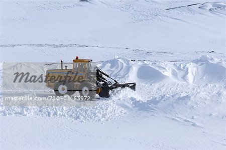 Snowplow Stock Photo - Rights-Managed, Image code: 700-01163972