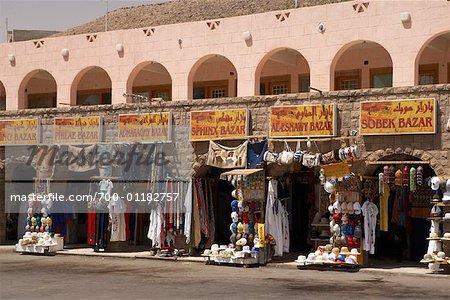 Souvenir Store in Aswan, Egypt