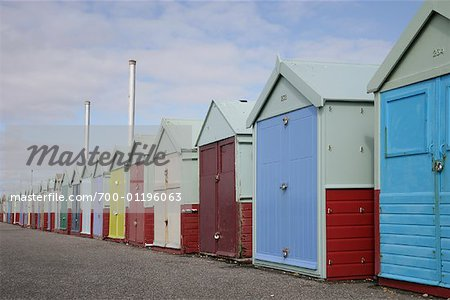 Beach Huts Stock Photo - Rights-Managed, Image code: 700-01196063