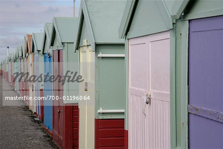 Beach Huts Stock Photo - Rights-Managed, Image code: 700-01196064