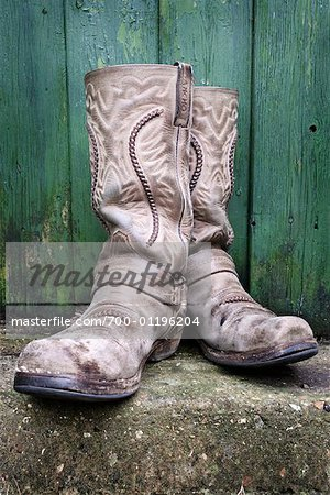 Cowboy Boots Stock Photo - Rights-Managed, Image code: 700-01196204