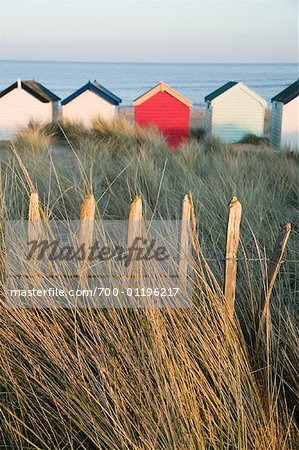 Beach Huts, Southwold, England Stock Photo - Rights-Managed, Image code: 700-01196217