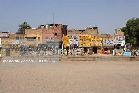 Souvernir Shops, Luxor, Egypt