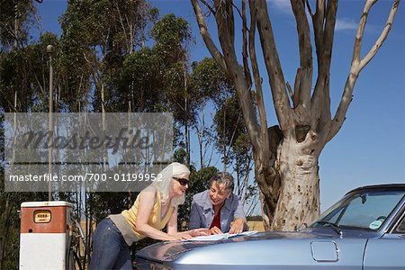 Women on Road Trip Stock Photo - Rights-Managed, Image code: 700-01199952