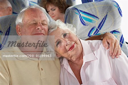 Seniors on Tour Bus Stock Photo - Rights-Managed, Image code: 700-01199963