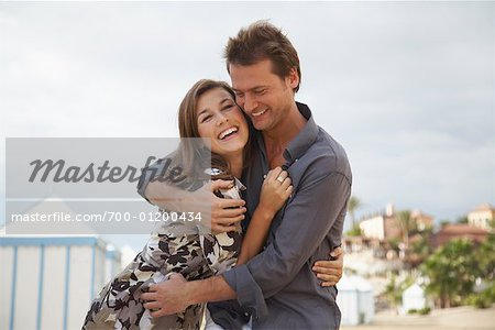 Couple at Beach Stock Photo - Rights-Managed, Image code: 700-01200434