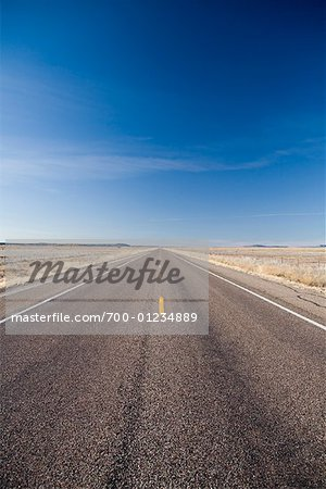 Open Road, Nevada, USA Stock Photo - Rights-Managed, Image code: 700-01234889