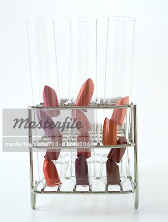 Lipstick in Test Tubes Stock Photo - Rights-Managed, Image code: 700-01248006
