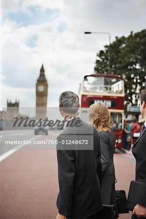 Businesspeople Commuting, London, England Stock Photo - Rights-Managed, Image code: 700-01248673