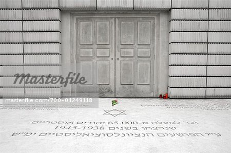 Nameless Library, Holocaust Denkmal, Judenplatz, Vienna, Austria Stock Photo - Rights-Managed, Image code: 700-01249118