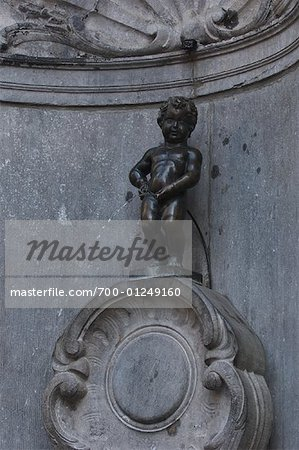 Manneken Pis, Brussels, Belgium Stock Photo - Rights-Managed, Image code: 700-01249160