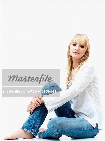 Portrait of Woman    Stock Photo - Premium Rights-Managed, Artist: Huber-Starke, Code: 700-01259941